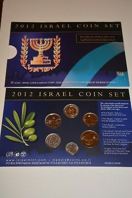 Israel 2012 - Coffret 6 Pieces De Monnaie - Bu - Collection - 100% Neuf