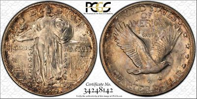 *VERY STUNNING 1929-S STANDING LIBERTY QUARTER - MS-64 by PCGS*