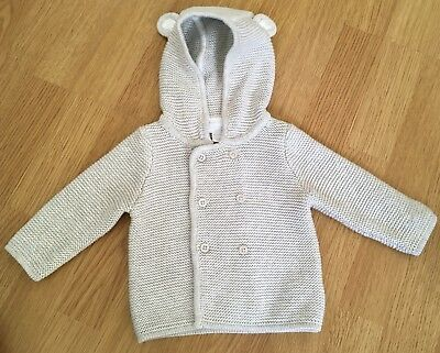 Little White Company 0-3 Months, Gorgeous Hooded Cardigan/jacket