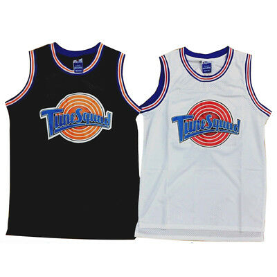 Space Jam Tune Squad Basketball Jersey Michael #23 Black White S M L XL