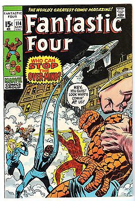 Fantastic Four #114, Very Fine Condition!