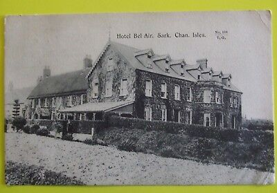 TOZERS Postcard POSTED 1909 HOTEL BEL AIR SARK CHANNEL ISLANDS
