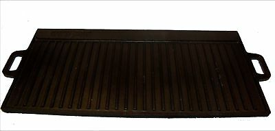 28  x 14 Inch Cast Iron Reversible Grill-Griddle