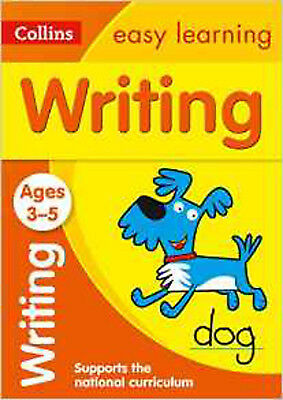 Writing Ages 3-5: New Edition (Collins Easy Learning Preschool), New, Collins Ea