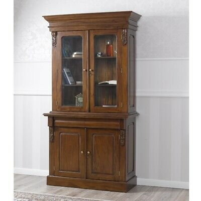 Bookshelves Office VICTORIAN English style Partners Pedestal MAHOGANY