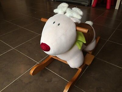 Mamas and Papas Rocking Reindeer Children's Toy - Great for Xmas! Collect KT20