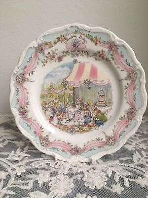 brambly hedge The Wedding Plate Royal Doulton Bone China Collectable Plate