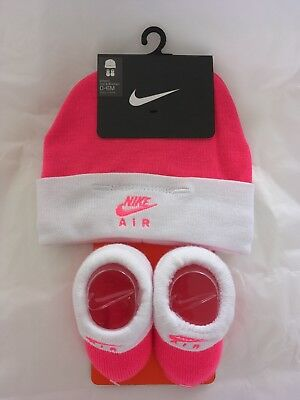 Nike Air Infant Hat And Boots 0-6m