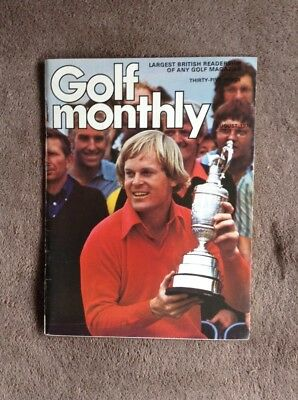 Golf Monthly Magazines August 1976