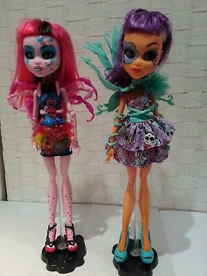 Monster High INNER MONSTER TRANSFORMATION - 2 dolls in excellent condition