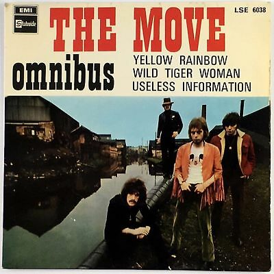 THE MOVE – Omnibus EP Spain 1968 / Yellow Rainbow - LSE 6.038 PSYCHEDELIC ROCK
