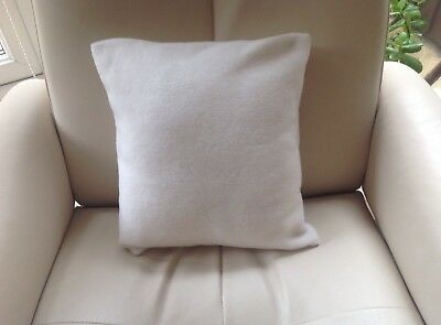 Square Cream Fleece Massage Table Pillow/Cushion With Detachable Cover