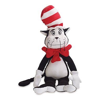 Dr. Seuss The Cat in The Hat Cordy Plush Toy New with Tags!