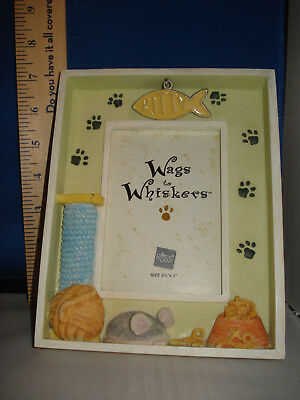 Picture Frame Cat Themed with Fish Charm by RUSS 1700 295
