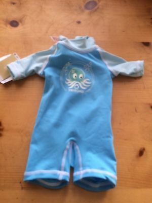BNWT Baby Splash About Swimming Wetsuit Body Suit Safe In The Sun 6 Months