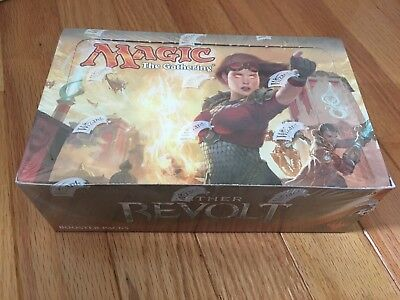 MTG Magic The Gathering Aether Revolt Booster Box Unopened ($0.99 no reserve!)