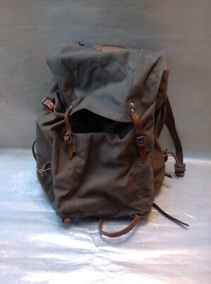 Great Vintage Swedish Ww2 Rucksack M39 ? Metal Frame With Lots Of Leather Vgc