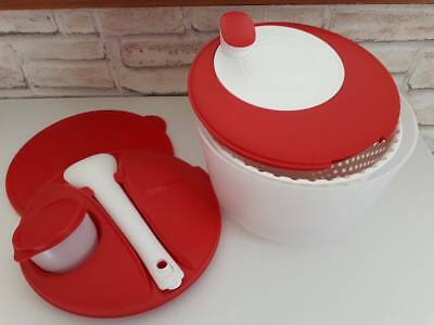 """""""Essoreuse express"""" rouge TUPPERWARE + 2 couvercles"""