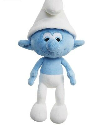 BRAND NEW Smurfs: The Lost Village Clumsy Smurf Talking Feature Plush