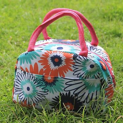 NEW Thirty one Thermal Picnic Lunch Tote Bag in flower totem 31 gift ice bag