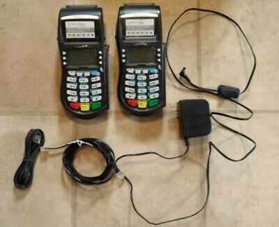 Hypercom M4230 wireless credit card terminal 2X