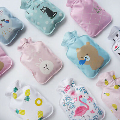 Winter Home Electric Hot Water Bottle Bag Warm Relaxing Heat Cold Christmas Gift