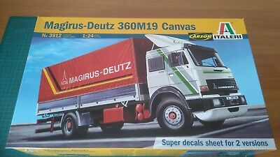 Italeri Magirus Deutz 360M19 Canvas