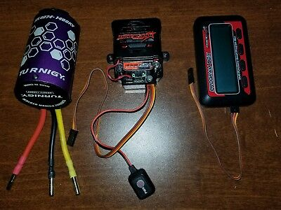 TrackStar 150A GenII 1/8th Scale ESC and Turnigy XK-4074 1400KV Inrunner
