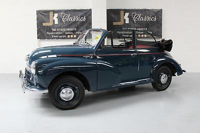 1953 MORRIS SERIES MM Converted Convertible Classic in Blue