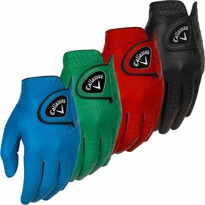 Callaway 2017 Opti-Colour Mens Leather Golf Glove Left Hand Many Options