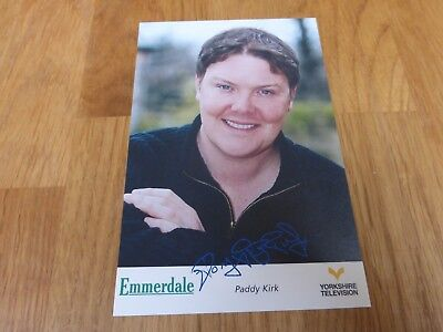 Emmerdale YTV Pre-Printed Signature Cast Card - Paddy Kirk