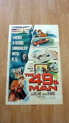 THE 49TH MAN (1953) Original Vintage US One Sheet Movie Poster