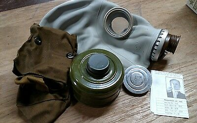 Russian GP-5 Gas Mask with Filter & Bag Military Surplus MEDIUM