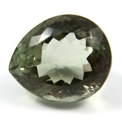 13.60 cts Natural Green Amethyst Pears Fine Faceted AAA Quality Loose Gemstone