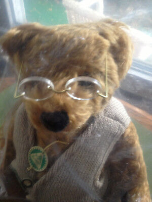 "Hermann""s , Vintage, New, Mohair Paddy Bear , #81 of 500."