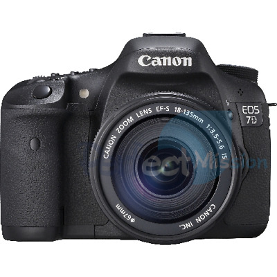 NEW ✓ Canon EOS 7D w/ EF-S 18-135 IS lens   1 YEAR WTY ✓