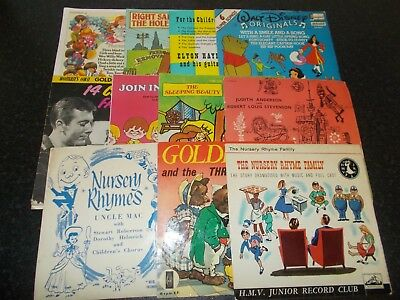 A Large Selection Of Children's Records