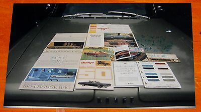 Photo 1964 Dodge 880 With Ads Brochures Literature On Hood - Vintage American