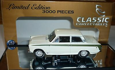 1:43 Ford Cortina Lotus 1965 Classic  Carlectables