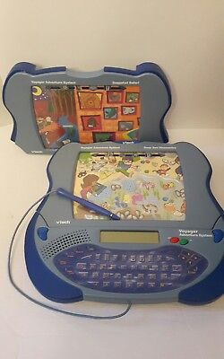 Vtech voyager adventure system 2 games deep sea adventures and snap shot safari
