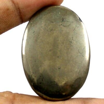 70.65 cts 100% Natural Quality Apache Gold Pyrite Cabochon Oval Loose Gemstone