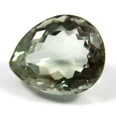 10.40 cts Natural Green Amethyst Pears Fine Faceted AAA Quality Loose Gemstone