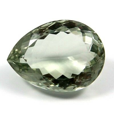 36.55 cts Natural Green Amethyst Pears Fine Faceted AAA Quality Loose Gemstone