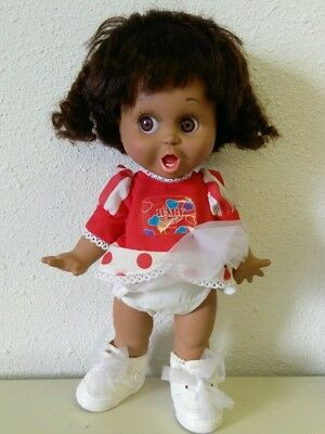 So Surprised Suzie Baby Face Galoob Doll African American