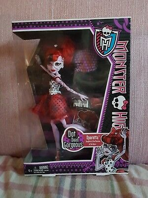 Monster high doll OPERETTA Drop Dead Gorgeous NEW in box