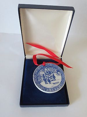 Mint Boxed 1979 Royal Copenhagen Christmas Ornament