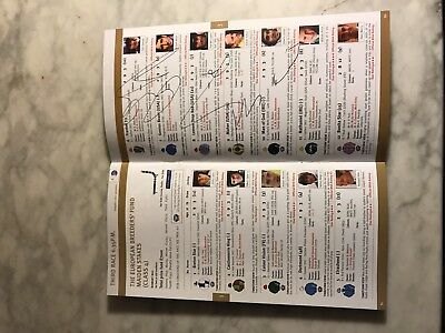 Frankel debut race card 13/08/10 signed by the late Sir Henry Cecil