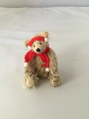 Wendy Sue with Scarf Miniature Bear