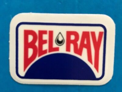 BEL RAY Decal