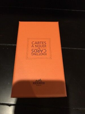 Hermes Knotting Cards Cartes A Nouer - How To Tie Your Scarf